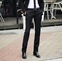 2013秋装西裤男韩版男正装修身英伦商务西装裤男士小脚裤休闲潮 价格:78.01