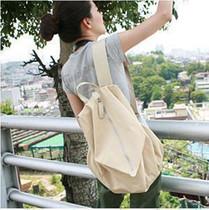 帆布包包情侣双肩包韩版背包书包男女包通用旅行包潮 价格:15.00