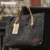 法国Chevignon 全棉帆布配牛皮 男款女款 斜挎包单肩手提帆布包潮 价格:193.80