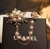 韩国 珍珠 胸针 欧美 复古花朵胸花 韩国 女 价格:7.50