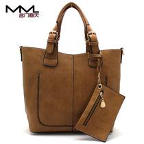 新款女包单肩包2013秋款休闲简约时尚欧美手提包子母包斜跨包包邮 价格:99.00