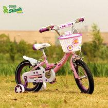 祺娃娃英国女孩12寸14寸16寸18寸女童车小孩宝宝儿童单车自行车 价格:338.69