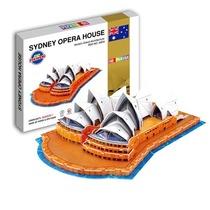 【悉尼歌剧院Sydney Opera House】3D立体拼图PUZZLE 益智玩具 价格:24.00