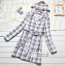 外贸 2013秋装新款睡裙浴袍 珊瑚绒睡衣睡袍女波款长袖 价格:16.80