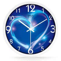 大号现代简约静音挂钟田园欧式石英钟表时尚创意客厅时钟墙钟包邮 价格:55.20