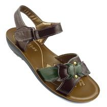 夏季真皮凉鞋平底平跟女凉鞋中老年凉鞋妈妈鞋沙滩特价老人女鞋子 价格:48.00