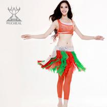 舞姿翼 肚皮舞服装练功套装 印度舞 练功服 修身 不含腰链QC2106 价格:77.90