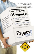 Delivering Happiness by Tony Hsieh 美捷步总裁 谢家华 价格:68.00
