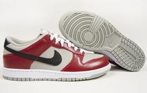 耐克/Nike Dunk Low 板鞋/休闲鞋/篮球鞋 酒红+灰 318019-017 价格:295.00