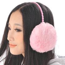 2012韩版时尚毛耳罩 珍珠仿兔毛保暖耳套 护耳罩 可爱耳暖 女冬天 价格:15.00
