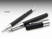 包邮 德国凌美LAMY 2012新款scala 天阶系列080磨砂黑钢笔 送笔袋 价格:435.00