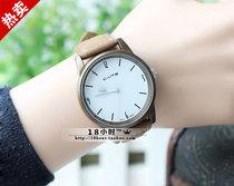 正品彩特中性手表 简约指针绒布皮带女表 个性数字时装表 明星款 价格:25.00