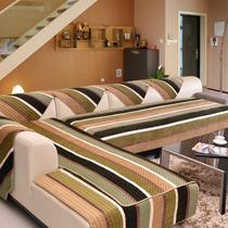 七格格真皮沙发垫坐垫布艺欧式沙发套沙发巾定做防滑短毛绒木厚罩 价格:38.00