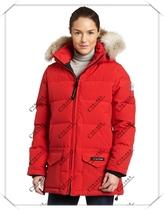 原单质量 加拿大鹅女款大毛领Solaris Parka 保暖羽绒服 价格:450.00