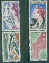 OK0521塞内加尔1966飞行员和飞机,航线图等4枚全新一枚有轻微折痕 价格:33.00