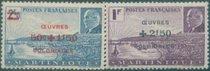 OK1775马提尼克1944名人头像 及自然风光加盖1枚改值 价格:12.00