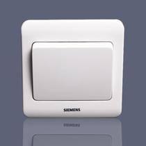 特价Siemens/西门子开关面板西门子开关插座远景雅白一开双控开关 价格:10.58