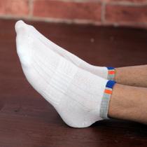 夏薄袜子男人袜男士纯棉短袜隐形浅口网孔船袜男无骨缝合10双包邮 价格:3.80