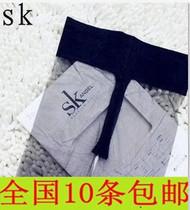 爆款梦娜 SK低腰超薄全透明T裆丝袜8D无痕隐形丝袜连裤袜批发价 价格:4.80