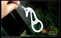 纳拓NexTool 冰川神马 随身 绳钩 多用工具钥匙扣 户外开瓶器 EDC 价格:42.00