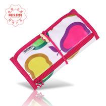 阿拉贝贝正品儿童钱包女童可爱三折文具袋男童笔袋零钱包韩版帆布 价格:48.00