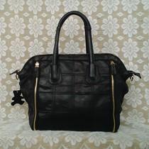 特价 2013新款欧美碎皮拼接包羊皮女包真皮包包手提斜挎休闲包包 价格:110.00