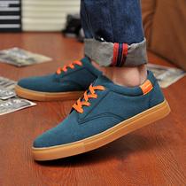 春季索客磨砂皮韩版男鞋子男士休闲鞋时尚潮流板鞋英伦鞋潮鞋舞鞋 价格:67.20