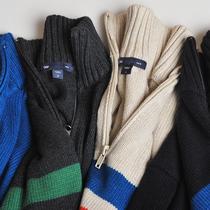 难得的原单强货 2013秋冬新款男士毛衣外套 拉链半高领针织毛衣男 价格:59.00