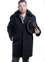 冬款中老年男士尼克服中长款驼绒内胆可拆卸棉衣加厚保暖外套清仓 价格:368.00