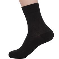 全棉男人袜春秋袜潮中筒无印男士纯棉袜子正品良品六双包邮 价格:6.50