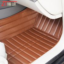臻途大全包围比亚迪新老F3/L3/G3/F6/G6/S6速锐专用皮革汽车脚垫 价格:218.00