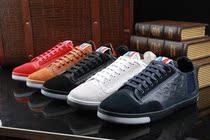 代购专柜 路易威登LV流行男鞋日常板鞋印花牛皮鞋子黑白红蓝彩色 价格:2275.00