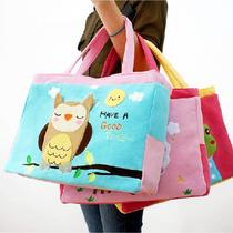 【天天特价】韩版可爱卡通手提包单肩包购物休闲妈咪包挎包帆布包 价格:39.00