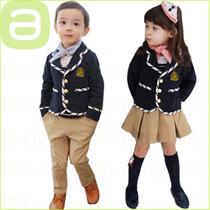 爱酷童秋冬韩版英伦学院西服礼服套装幼儿园服学生校服演出合唱服 价格:80.00