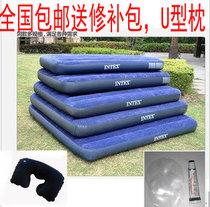 包邮  美国INTEX单人双人充气床垫 豪华植绒气垫床 送修补胶 价格:58.00
