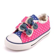 公主鞋一休儿童帆布鞋女童鞋女孩单鞋2013秋季新款韩版潮青少年 价格:158.00