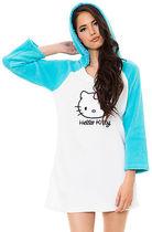 新品  Hello Kitty 2013新款珊瑚绒浅色睡裙睡袍浴巾 不买后悔! 价格:95.00