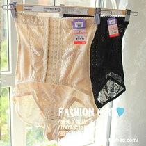 日单收胃/多功能/胖瘦穿新款排扣高腰提花收腹提臀塑身内裤超透气 价格:49.99