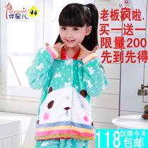 秋冬季儿童睡衣珊瑚绒法兰绒长袖女孩童保暖套装空调家居服 包邮 价格:118.00