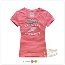 百元三件2013夏装新女装全棉糖果色圆领短袖T恤MAWT32026 价格:52.00