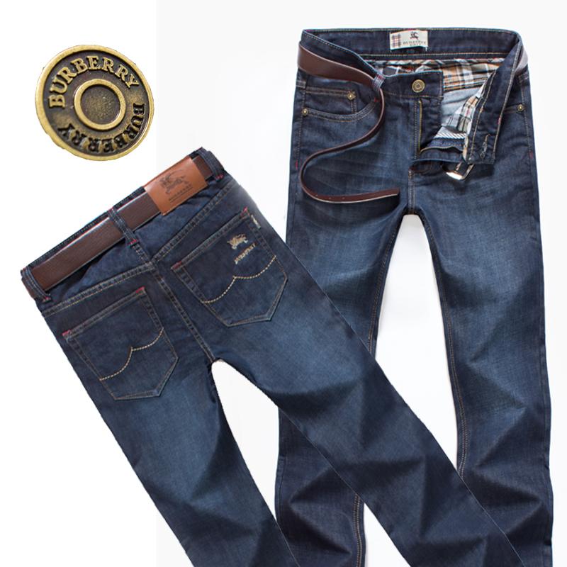 男士2013爆款牛仔长裤精品韩直筒修身男装牛仔裤高档折扣男牛仔裤 价格:126.00