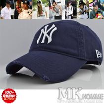 MLB联盟newyork正品NY字母刺绣复古休闲户外帽遮阳棒球帽鸭舌帽子 价格:21.00