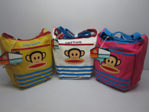 2013新款paulfrank大嘴猴包包单肩包斜跨包帆布包女包包93150218 价格:89.00