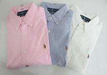 厚款 纯色 小马标 美国正品代购PoloRalphLauren牛津纺长袖衬衫衣 价格:439.00