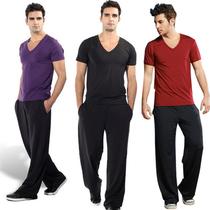 路伊梵男士健身服正品 健身房套装 瑜伽服 运动服休闲服7831包邮 价格:98.00