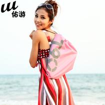 一包多用 游泳专用包 休闲洗漱包 双肩包 沙滩背包 情侣包 束口包 价格:8.00