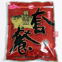 天元鱼饵 黄金版鲫鱼套餐 浓香型 饵料 钓饵鱼食渔具钓鱼用品120g 价格:4.00