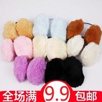 韩国粉嫩甜美风长毛绒绒保暖 耳套 保暖耳罩 防寒耳罩 耳暖 价格:3.50