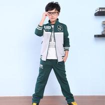童装秋装 男童2013新款 儿童套装 男童三件套装 中大童运动套装 价格:148.00