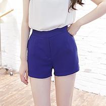 2013韩国新款 时尚女装显瘦打底热裤 百搭雪纺短裤 夏 女 韩版 价格:35.20